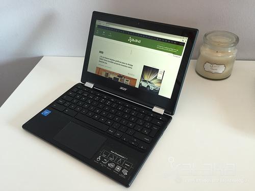 Acer Chromebook R11, análisis: un convertible con Chrome OS cuya pega es ser convertible