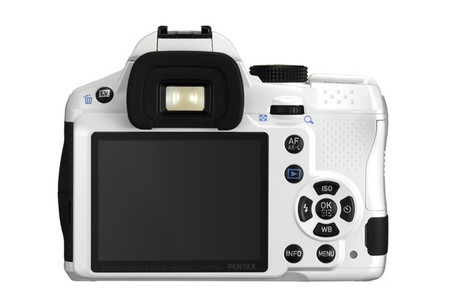 Pentax K-30 vista posterior