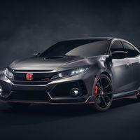 Honda Civic Type R Concept, así de tentador será el rival japonés del Focus RS