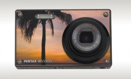 Personaliza tu cámara Pentax Optio RS1000