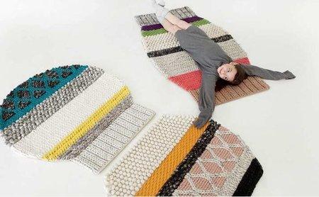 Mangas, una colección de alfombras muy divertida