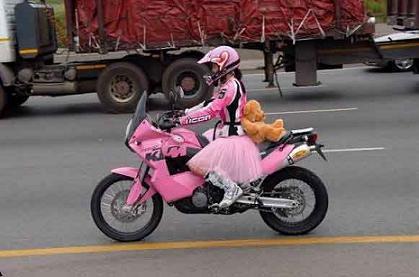 KTM color de rosa