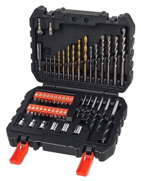El pack de 50 piezas para taladrar y atornillar Black and Decker A7188 ahora sólo cuesta 16,63 euros en Amazon