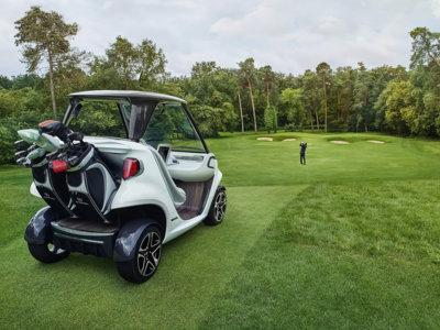 Esto es lo que pasa cuando a Mercedes-Benz le da por practicar el golf