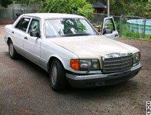 El Mercedes de Saddam Hussein