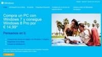 Ya está abierto el registro para la promoción de Windows 8 si has comprado un PC nuevo