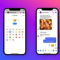 """Los emojis de Facebook Messenger ahora también suenan: """"las palabras no son suficientes para expresar cómo te sientes realmente"""""""