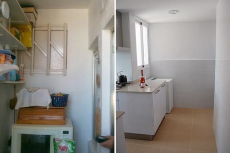 Antes y después cocina con poco presupuesto Três Studio - 5