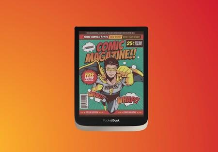 Disfruta de tus cómics a todo color con este libro electrónico premium de oferta en Amazon: PocketBook InkPad Color a 269 euros