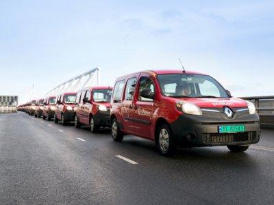 El servicio postal noruego se hace con 240 unidades de la Kangoo Z.E.