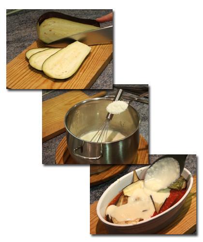 mousaka vegetariana pasos