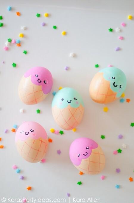 Manualidades Ninos Decorar Huevos Pascua 12