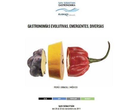 San Sebastián Gastronomika 2011 apuesta por las gastronomías evolutivas, emergentes y diversas