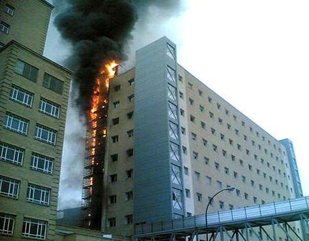 ¿ Qué hacer si hay un incendio en el hotel ?