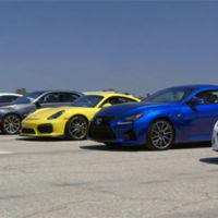 """""""El mejor Drag Race del mundo"""", cortesía de Motor Trend (vídeo)"""