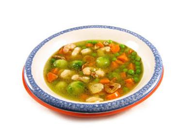 Cocinando vegetales con Thermomix II. Menestra de verduras