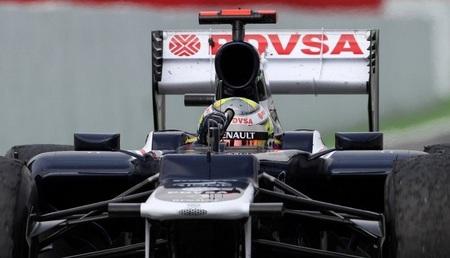 Pastor Maldonado GP España 2012 Victoria