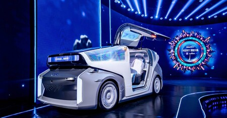 Baidu desvela Robocar, su concepto de coche autónomo que refleja la visión a futuro de la compañía china