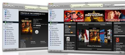Actualización de iTunes y QuickTime a 7.1: ¡Películas y Coverflow a pantalla completa!