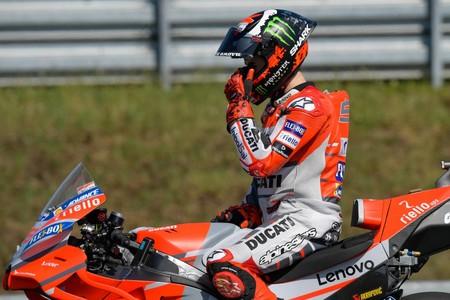 Jorge Lorenzo ya estaría negociando con Ducati para volver a MotoGP tanto si se retira Andrea Dovizioso como si no