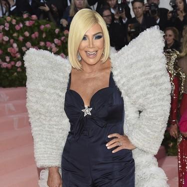 Gala MET 2019: vas a mirar dos veces antes de reconocer a Kris Jenner
