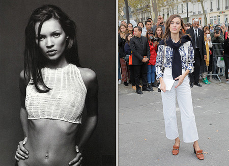 Kate Moss Vs Alexa Chung It Girls 90s Versus It Girls 2018