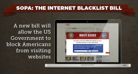 ¿Qué es SOPA? Infográfico para 'dummies'