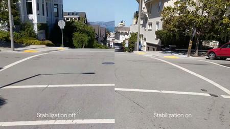 Google Pixel: estabilizador de imagen