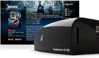 MediaCenter 4G HD, probamos a fondo lo último de InOutTV