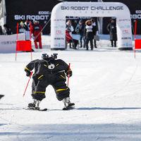 Robots compitiendo por ser los mejores esquiando: en los Juegos Olímpicos de Invierno los humanos ya no son los protagonistas