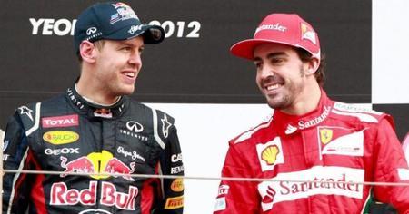 Sebastian Vettel a Ferrari en 2014. Rumor del día