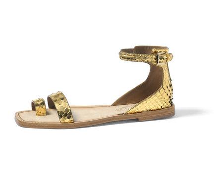 Tods-sandalia-serpiente oro
