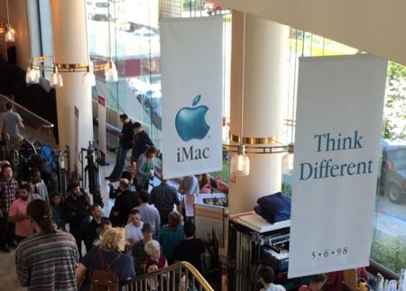 Oro puro para veteranos: el rodaje del biopic de Steve Jobs recrea el evento de presentación del iMac original