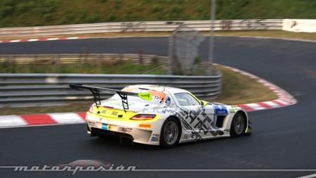 El alas de gaviota del HTP Motorsport