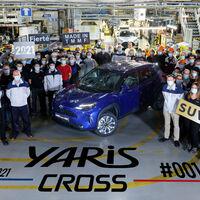 Toyota Yaris Cross: el B-SUV híbrido ha iniciado su producción en tierras francesas