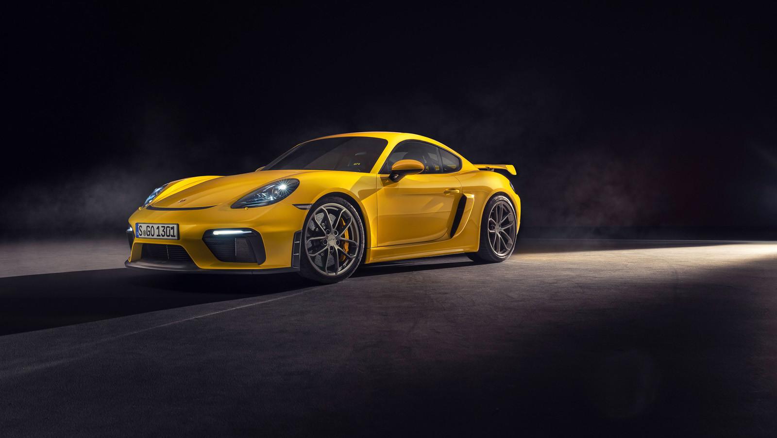 Foto de Porsche 718 Cayman GT4 y Porsche 718 Spyder (3/16)