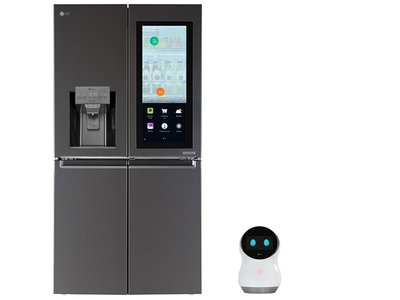 El Hub Robot llega a la cocina para combinarse con el frigorífico inteligente de LG