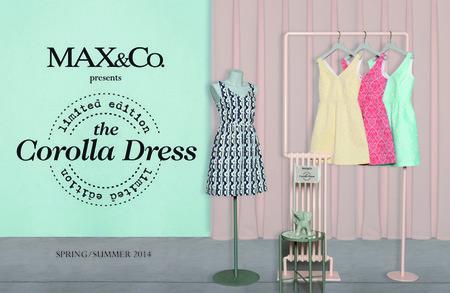 El vestido Corolla de Max&Co, protagonista absoluto de un fashion film, ahora en un Pop-Up