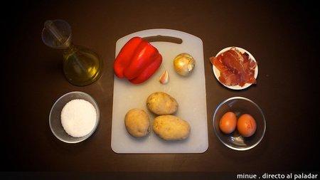 Patatas rico y pobre - ingredientes