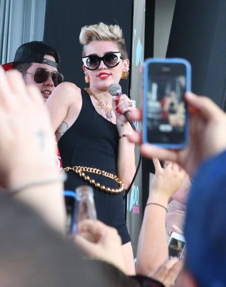 Estás de foto, querida Miley Cyrus