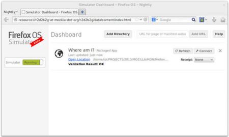 Ya está disponible Firefox OS Simulator 4.0