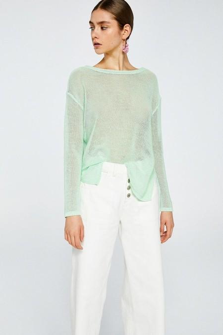 jersey verde pastel