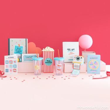 La colección de San Valentín de Mr. Wonderful viene cargada de regalos originales adaptados al momento actual