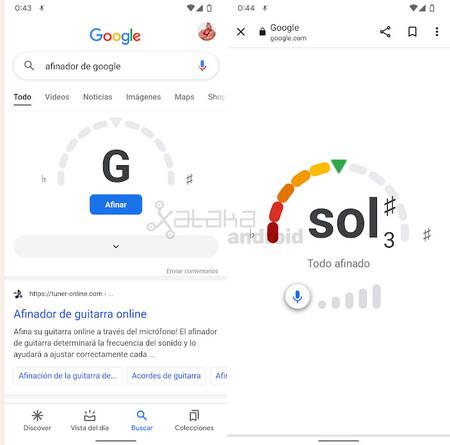 Afinador Instrumentos Musicales Google