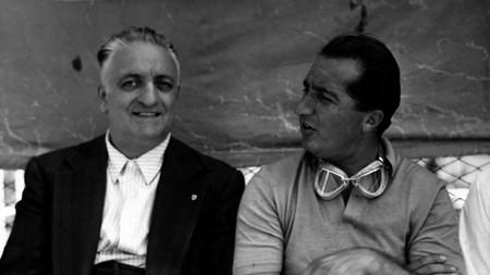 Alberto Ascari Enzo Ferrari