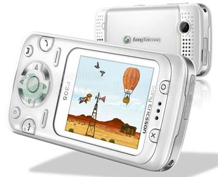 Sony Ericsson F305, el 'PlayStation Phone'