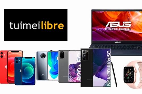 Ofertones en tuimeilibre para adelantar el Black Friday: iPhone 12 y 12 Mini, Samsung Galaxy S20+ y Note 20 Ultra o Apple Watch Series 6 a los mejores precios del momento