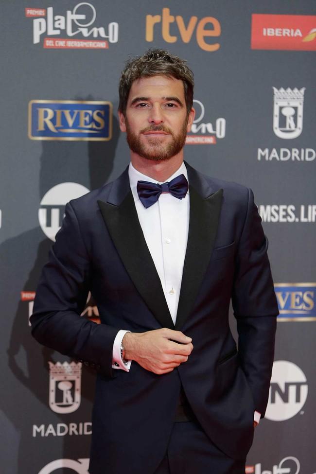 Alfonso Bassave en los Premios Platino