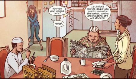 Ms Marvel Desayuno