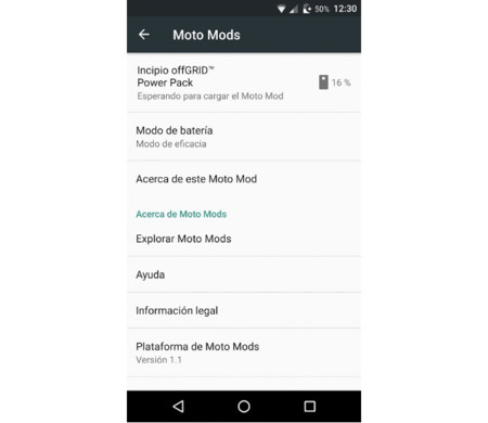 Moto Mods Manager